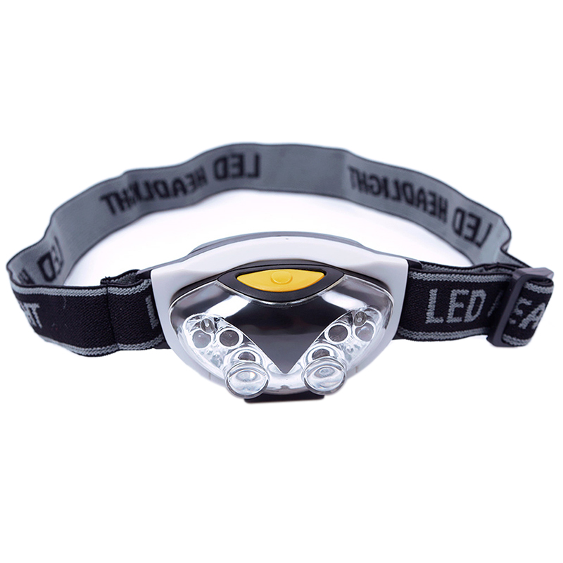 New Portable LED Head Lamp Torch Light Hands Flashlight With Headband Emergency Survival for Camping