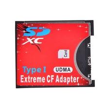 Адаптер для карт SD CF Беспроводной Wi-Fi SD MMC SDHC SDXC слот для CF тип I компактная флеш-память CF карта адаптер для SLR камеры