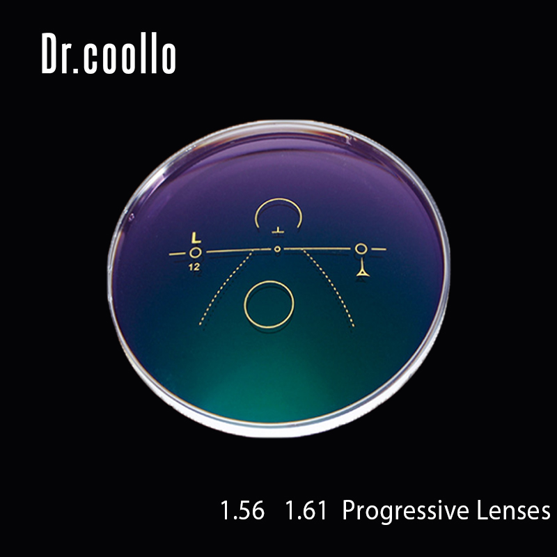 1.56 1.61 1.67 lentilles progressives asphériques multifocales Prescription myopie lentille optique hyperopie