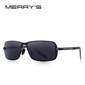 Image 3 - MERRYS DESIGN Classic Men HD Polarized Sunglasses For Men Driving CR39 Lenses UV400 Protection S8722
