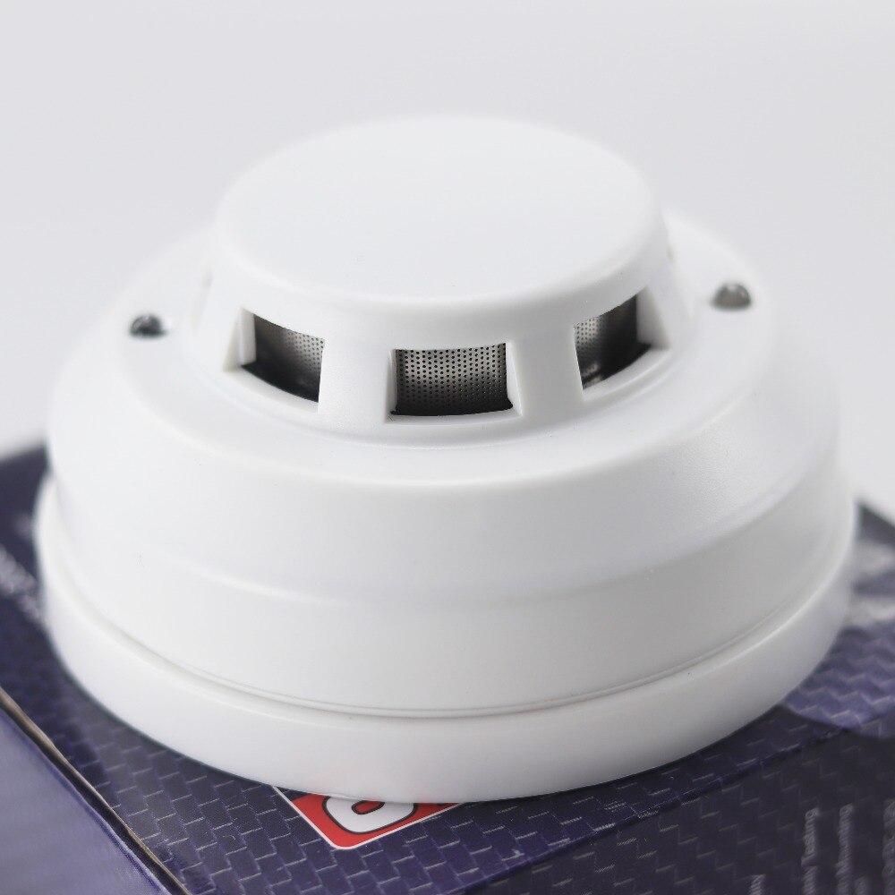 GZGMET 12 В DC детектор дыма Фотоэлектрические сигнализации Главная Сенсор пожарной безопасности детектор проводной сигнализации Системы ...