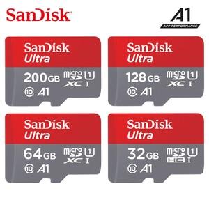 Image 1 - Original Sandisk tarjeta micro sd 16 gb 32 gb 64 gb 200 gb cartao de carta de memoria micro sd 128 gb clase 10 de memoria de hasta 90 MB/S tarjeta