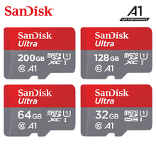 Oryginalna karta micro sd Sandisk 16gb 32gb 64gb 200gb cartao de memoria carte micro sd 128gb klasa 10 do 90 MB/s karta pamięci