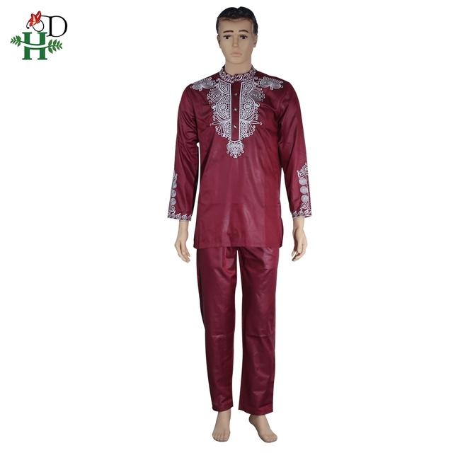 Dashiki men 2 pieces outfit
