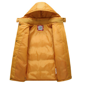 Image 5 - Children Outerwear Warm Coat Sporty Kids Clothes Waterproof Windproof Thicken Boys Girls Cotton padded Jackets Autumn and Winter