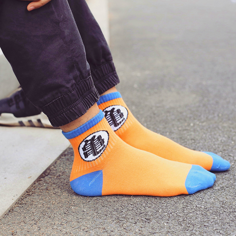 500pair/lot Cartoon Women Men Socks Film Master Tortoise Dumpling Fun Letter print Female Socks Cartoon Mid Tube Sock