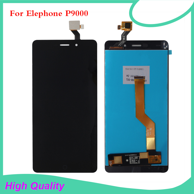 High Quality For Elephone P9000 LCD Display Touch Screen Digitizer For Elephone P9000 lcd screen Free Tools high quality for elephone g6 lcd display