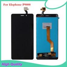 Высокое Качество Для Elephone P9000 ЖК-Дисплей С Сенсорным Экраном Дигитайзер Для Elephone P9000 жк-экран Бесплатные Инструменты,