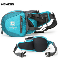 Outdoor Running Bag Unisex Waist Pack for Hiking Cycling 8 colors Mountaineering Sport Bag with Bottle holders