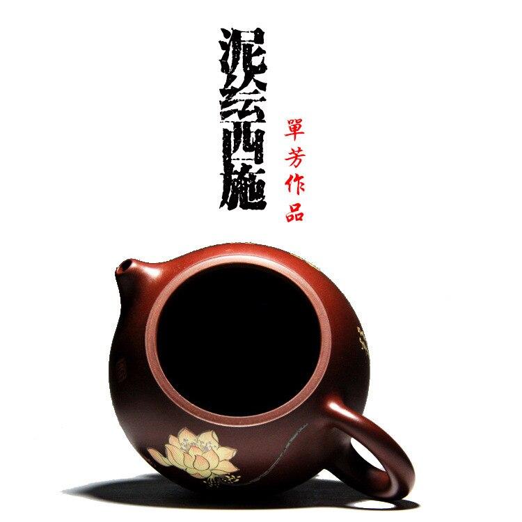 Ручной цветной рисунок или узор все красота рекомендуется дорожный чайник кунг фу чайный набор чай услуги настройки