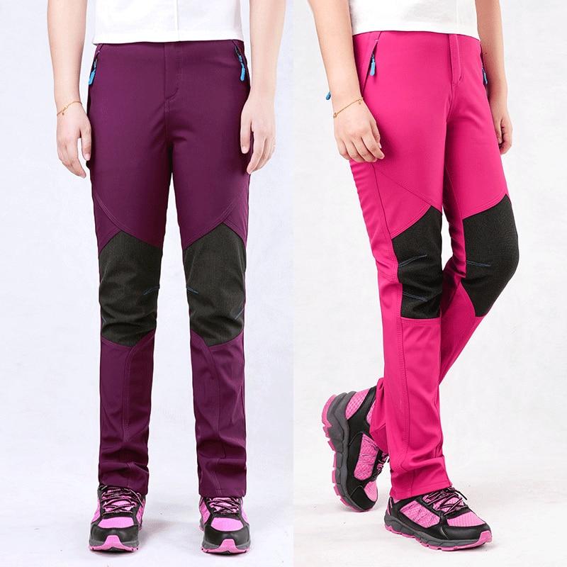 Vysoce kvalitní strečové rychle schnoucí kalhoty dámské modely jezdecké kalhoty kalhoty mamutí kalhoty windstopper