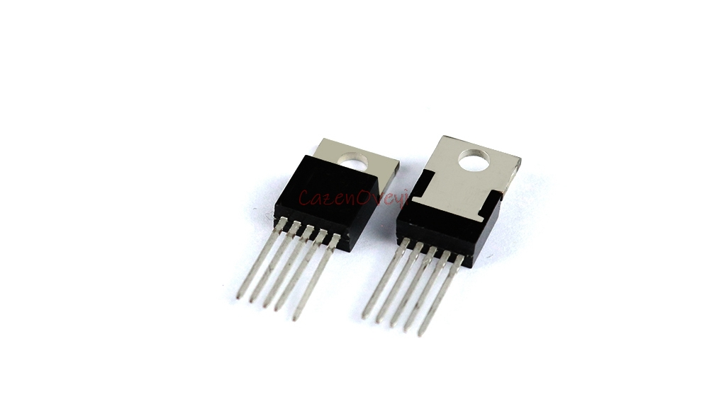 10pcs/lot LM2596T-5.0 LM2596T LM2596 TO-220-5 In Stock
