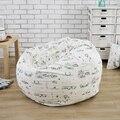 Londres estilo de impresión silla del bolso de haba jardín Camping bolsas de frijoles cubiertas Lazy sofá cualquier portátil sentado cojín