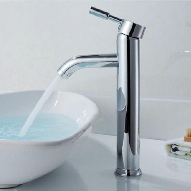 Bathroom Basin Faucet Vessel Sink Water Tap Hot and cold water ...