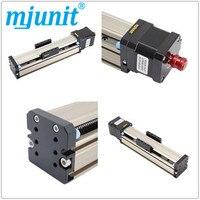 Mjunit Precision CNC MJ42 линейный направляющий скользящий стол винт набор из 42 электродвигателя ручной 200 мм ход