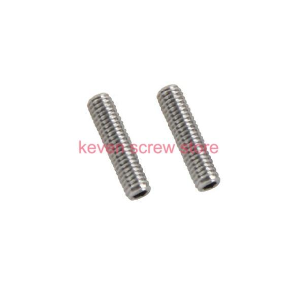 все цены на  50pcs/Lot M4x10 mm M4*10 mm 304 Stainless Steel Hex Socket Head Cap Screw Bolts set screws with cup point  онлайн