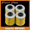 4 X Filtro de Óleo Limpo Para FL125 RMX450 RMZ250 RMZ450 RMZ RMX Compete a Motocicleta Da Bicicleta Da Sujeira do Motocross Enduro