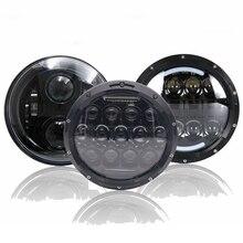 """Yait 1 шт. светодиодный светильник на голову s """" 7 дюймов круглый светильник для вождения мотоцикла для мотоцикла Touring Electra Glide"""