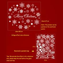 Christmas decoration wall stickers window stickers self-adhesive stickers Christmas decorations for home navidad natal