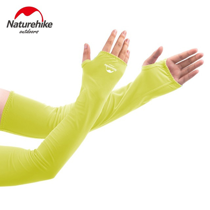 NatureHike UV Protection Cool Arm Sleeves for Men Women Cycling Driving Running Basketball Football Stretch & Moisture Wicking