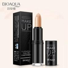 BIOAQUA Modified Cover Defect Pen face makeup Cover Dark Circles Acne Spot Easy Color Concealer Cream foundation Long Lasting
