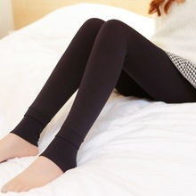 New Fashion Women's Autumn Winter High Elasticity And Good Quality Leggings Thick Velvet Pants Activity Free Shipping