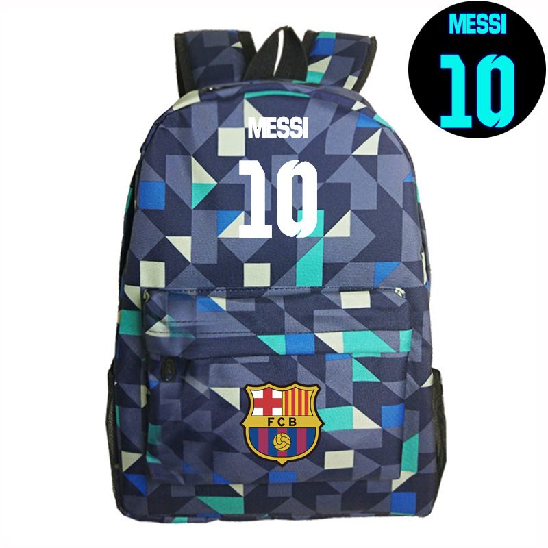Teenagers Backpacks School Bag Logo 10# Messi Backpack Bag Men Boys Travel Gift Kids Bagpacks Mochila Bolsas Escolar Fan Bag logo messi backpacks teenagers school bags backpack women laptop bag men barcelona travel bag mochila bolsas escolar