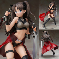 November 2016 update hot anime Fate/stay night Tekens Tohsaka Rin action figure Fate nul sexy meisje Rin Tosaka speelgoed KC0112