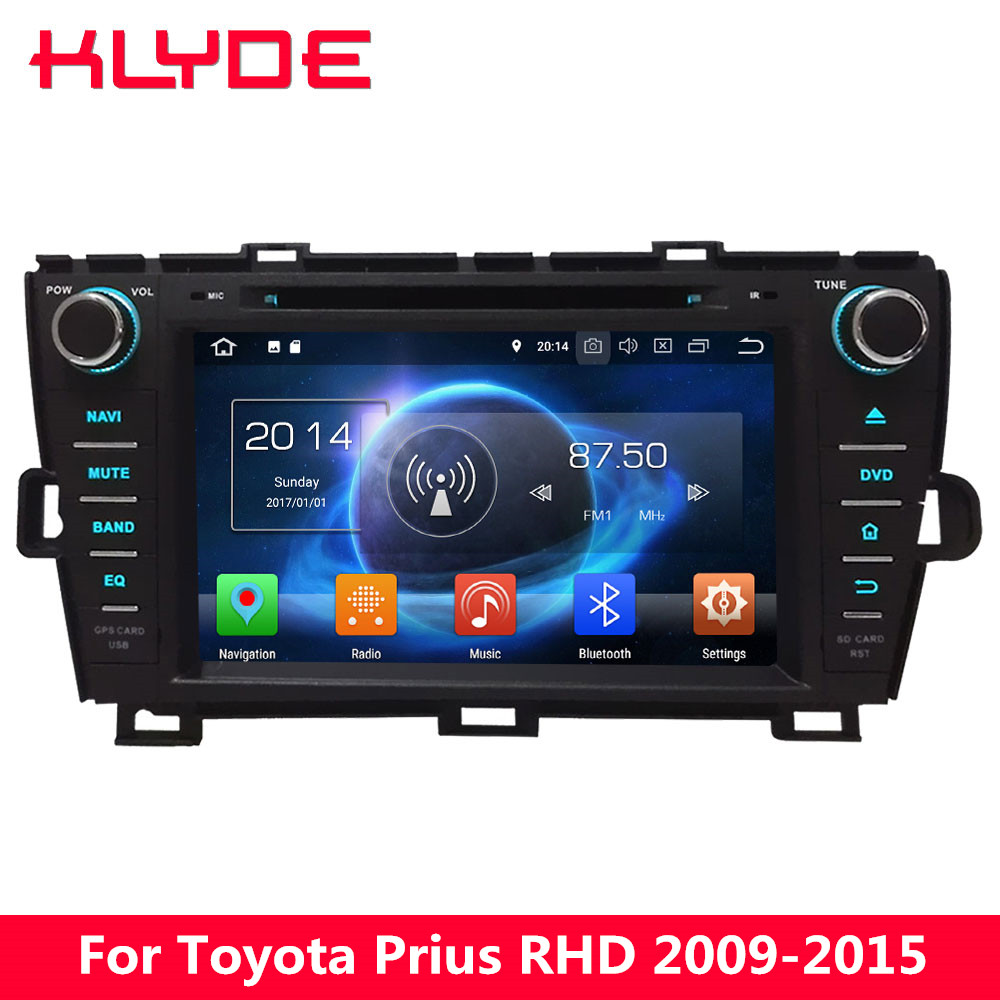 KLYDE 8 4G Octa Core Android 8 0 4GB RAM 32GB Car DVD Multimedia Player For