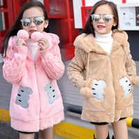 Bébé filles vestes 2018 automne hiver veste filles manteau enfants chaud à capuche vêtements d'extérieur pour enfants manteau enfant en bas âge fille vêtements d'hiver