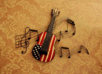 1 pc skrzypce metalowy znak plakietka emaliowana skrzypce WAZON OZDOBNY draperie TV do salonu ściana tła dekoracji tanie i dobre opinie Europa Muzyka