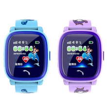 Waterproof Q100 Child GPS Swim touch phone smart baby smart watch SOS Call Location Device Tracker
