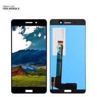 Pour Nokia 6 écran tactile panneau de verre numériseur LCD affichage assemblée pour TA-1021 TA-1033 TA-1025 LCD affichage + outils