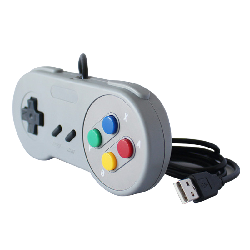 Image 4 - USB2.0 Controller For Super Nintendo Snes Classic Wired PC Super Snes Controller USB-in Gamepads from Consumer Electronics