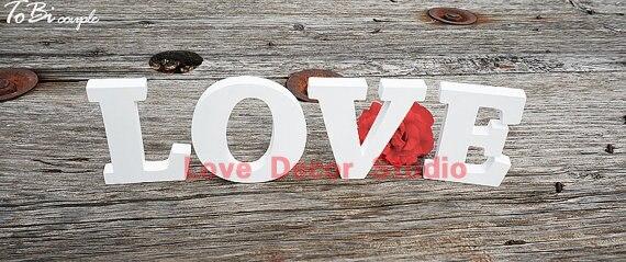 ПВХ знак любви, ПВХ буквы, Свадебный декор, полка декоры-ООН роспись буквы-настенный буквы