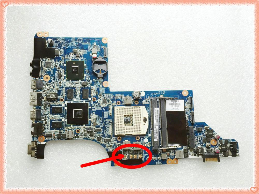 for HP PAVILION DV7-4000 DV7T-4100 NOTEBOOK DV7 DV7T Motherboard HM55 DDR3 DA0LX6MB6H1 DA0LX6MB6F2 615308-001 HD5650M 17.3 inch моноблок lenovo ideacentre 510 23ish 23 fullhd core i5 7400t 4gb 1tb dvd kb m win10 white