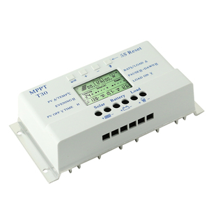 Image 3 - NEW MPPT T30 Solar Charger Controller 30A 12V 24V Auto LCD Display CE Certificated Light and Dual Timer Control Voltage Settable