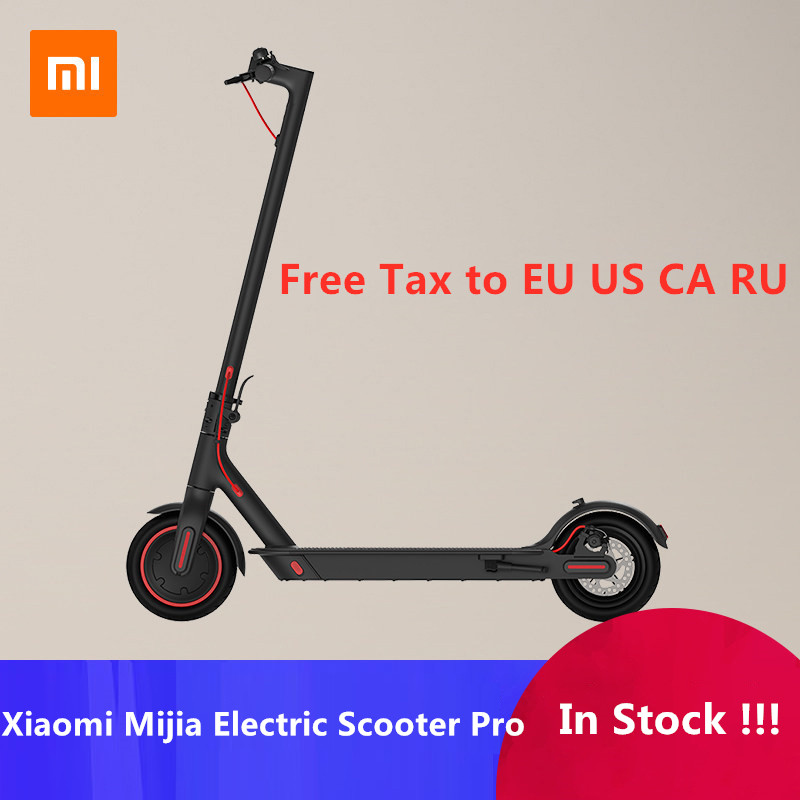 EU Stock Original Xiaomi Mijia M365 Smart Electric Scooter Foldable Skate  Board For Adult Mini mi 30KM Mileage Longboard