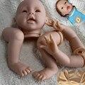 Мягкий Винил Reborn Doll Комплекты (голова, конечности, ткани тела), Реалистичные Ребенок Сделать свой Собственный, 22-дюймовый