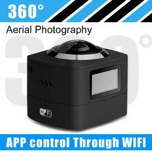 Panoramic 360Dกล้องวิดีโอVRกล้อง8.0เมตรCMOS DualระบบWIFI 190Dมุมกว้างเลนส์Fisheyeการดำเนินการกันน้ำ360กล้อง