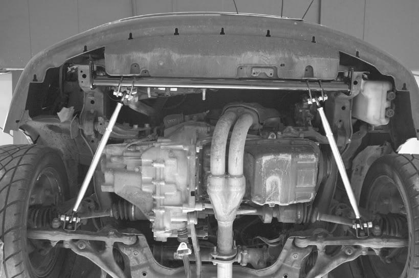 Barre de Traction pour Honda DEL SOL 93-97 pour Honda Civic 92-95 EG 96-00 EK pour Acura pour Integra 94-01 YC101512 - 4