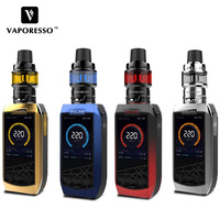 Original Electronic Cigarette Vaporesso Polar 220W Vape Kit Use 6.5ml & 2ml Cascade Baby SE Tank GT Meshed and GT Coil E Cig Kit