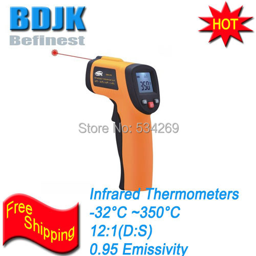Pocket Infrared Thermometers -32~320 Temperature Tester with Blister Package Economic Instrument