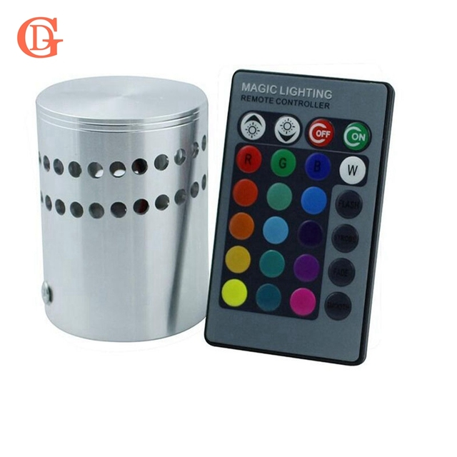 GD Moderne 3 W RGB Led Mur Lumière 85,265 V 110 V/220