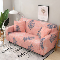 Floral Printed Stretch Furniture Sofa Covers For Living Room Elastic Converts Cover Pattern 1 2 3