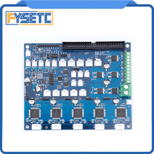 משובט Duex5 DueX הרחבת לוח עם TMC2660 תמיכה תרמי או PT100 בת לוחות עבור 3D מדפסת מכונת CNC