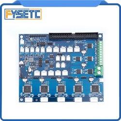 Sklonowana karta rozszerzenia Duex5 DueX z obsługą TMC2660 dla płyt termoelektrycznych lub PT100 dla drukarki 3D i maszyny CNC w Części i akcesoria do drukarek 3D od Komputer i biuro na