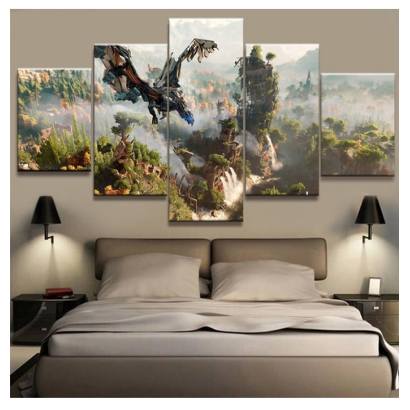 5D DIY Diamond Embroidery Horizon Zero Dawn Game Rhinestones Full Square Diamond Painting Cross Stitch Mosaic