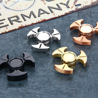 2017 Hot Luminous Triangle Hand Fidget Focus Spinner Desk Toys Hybrid Ceramic Center Bearing Anti Stress