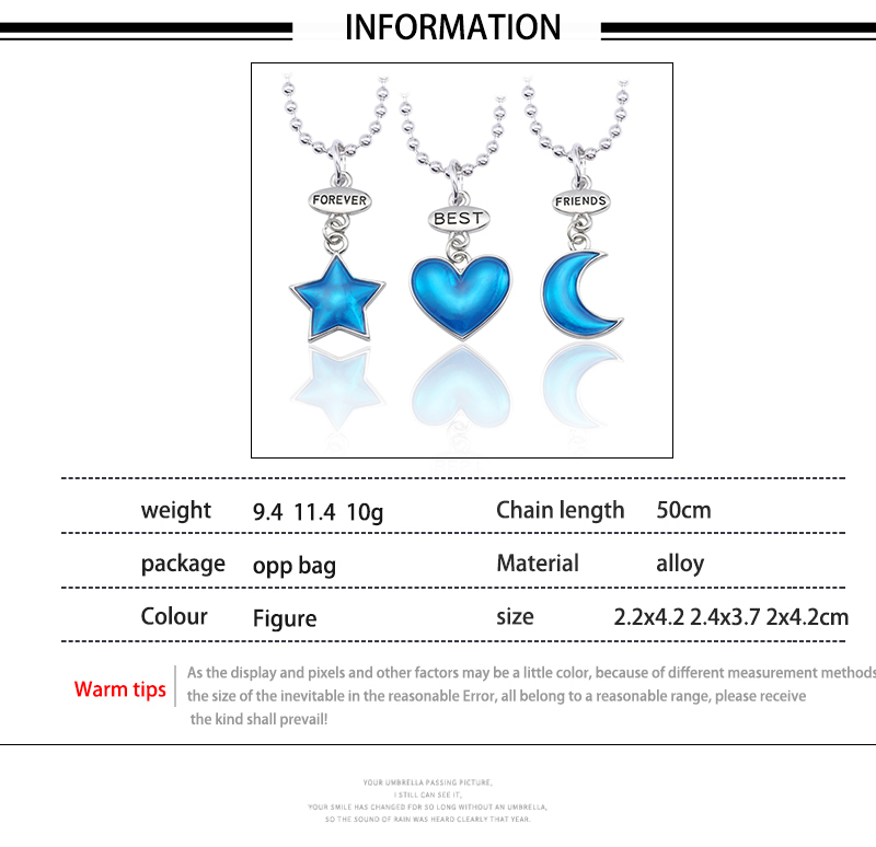 HTB1llfqemzqK1RjSZPxq6A4tVXak - Best Friend Necklace Women Crystal Heart Tai Chi Crown Best Friends Forever Necklaces Pendants Friendship BFF Jewelry Collier
